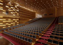 Render interior de auditorio en 3d españa Lumion vray 3dmax