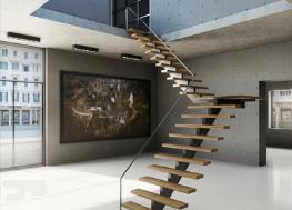 Render interior de galeria de arte 3d Lumion vray 3dmax