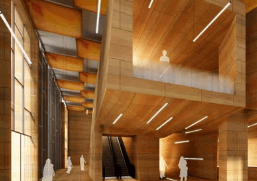Render 3d Barcelona lobby en España 3dmax vray lumion