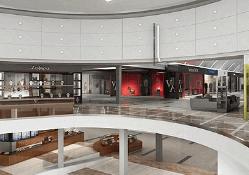 Render 3d Valencia centro comercial en España 3dmax vray lumion